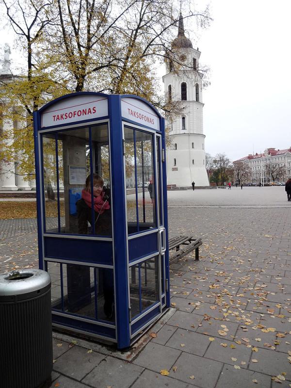 Прогулка в Вильнюсе