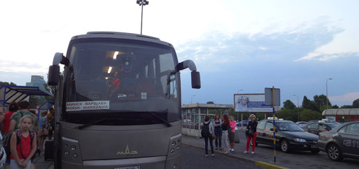 Bus from Minsk