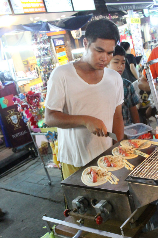 Уличная тайская еда