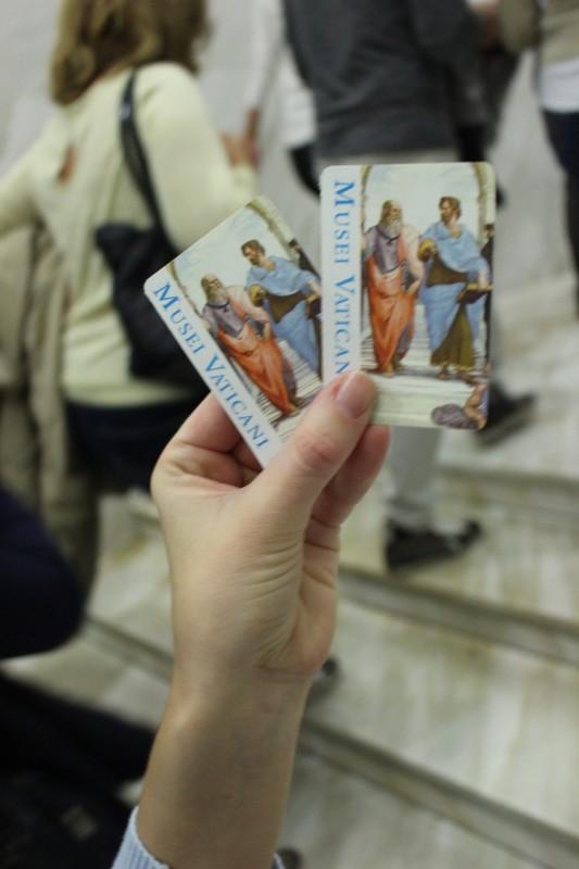 Билетики в Ватикан