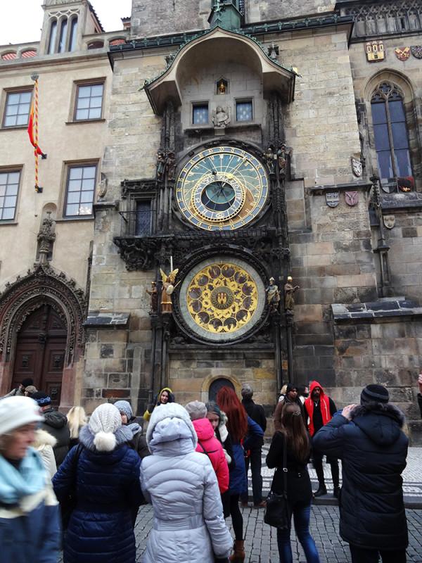 Знаменитые Пражские часы