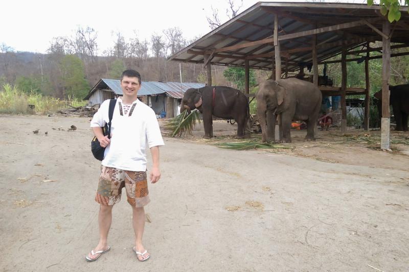 Наши первые слоны