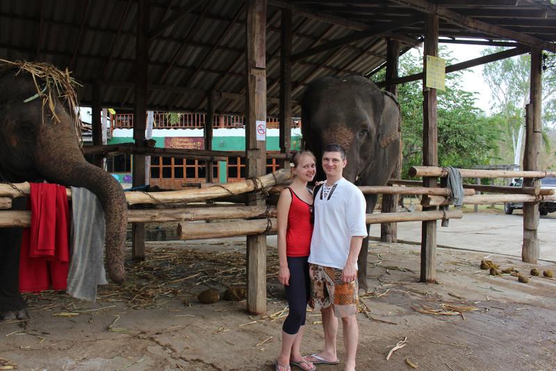 Лагерь слонов