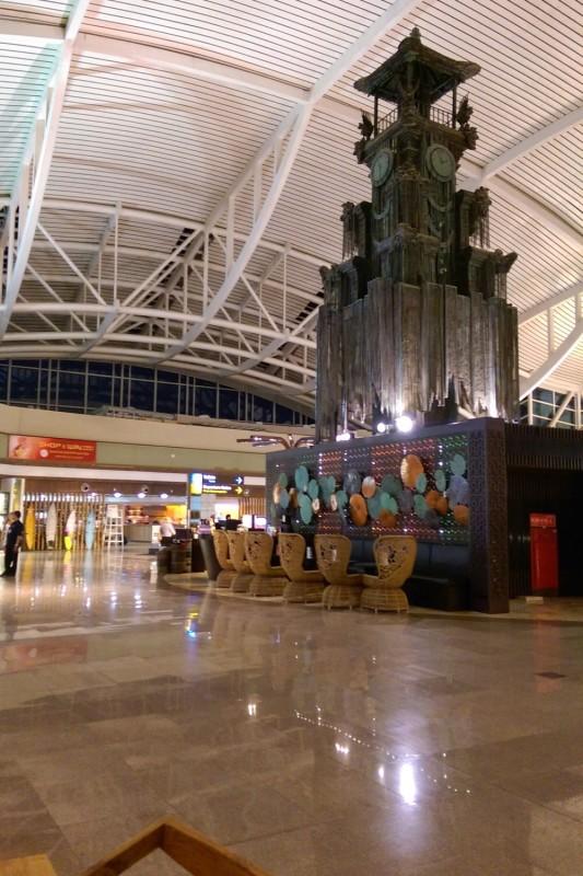 В аэропорту Денпасара