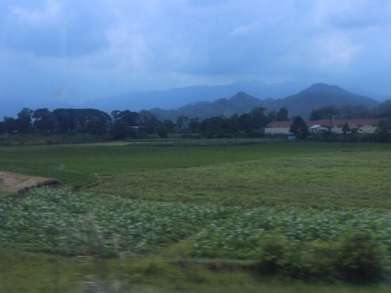 Кругом горы и вулканы