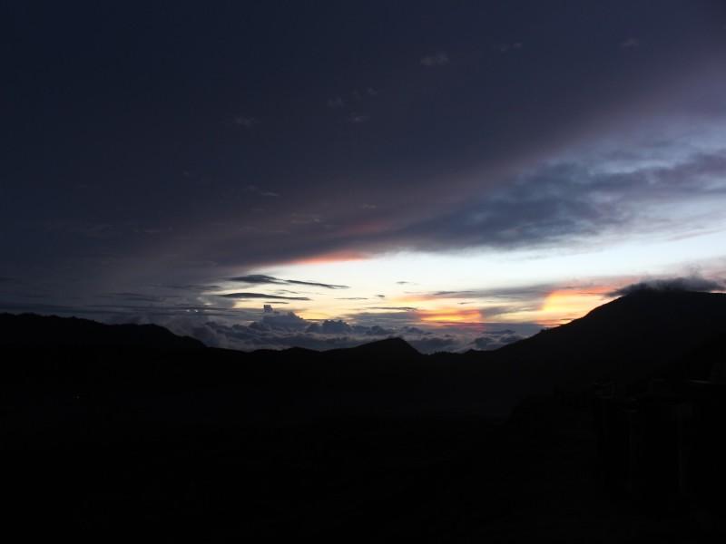 Рассвет на Бромо