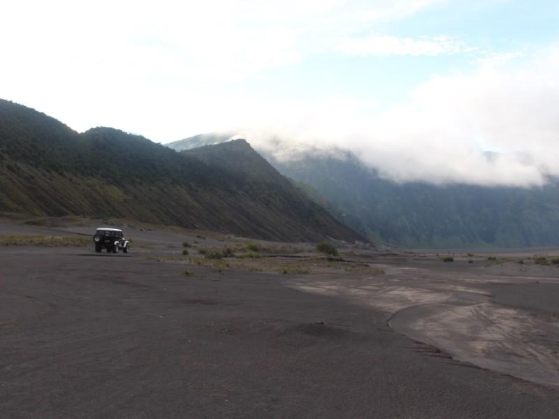 Джипы к вулкану