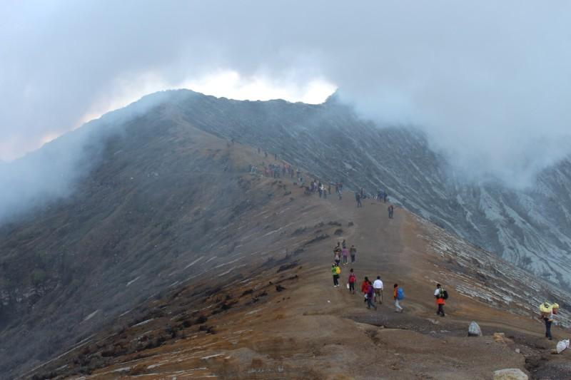 Дорога от вулкана