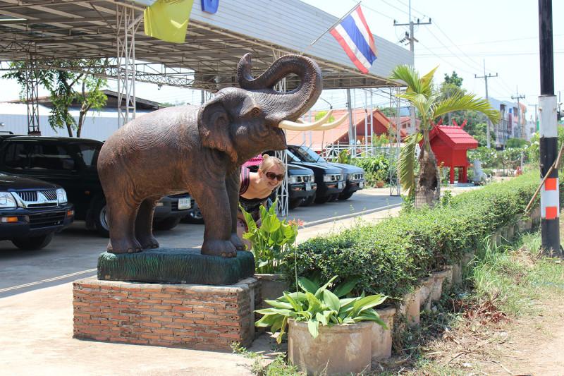 А вот и слоник