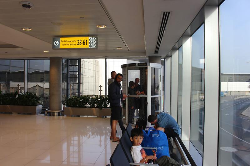 Комната для курения в аэропорту Абу-Даби