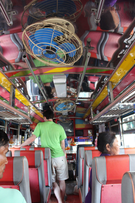 Автобусный вентилятор