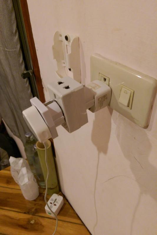 Стандартная конструкция для зарядки всех агрегатов