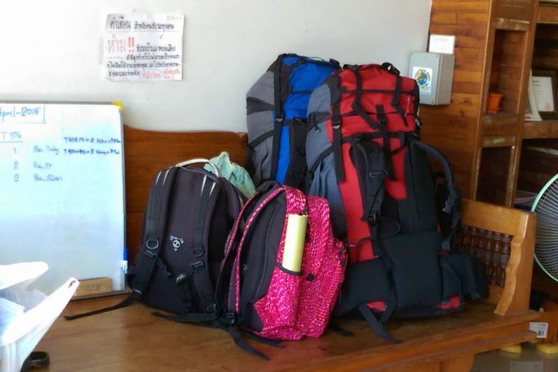 Наши мини рюкзаки