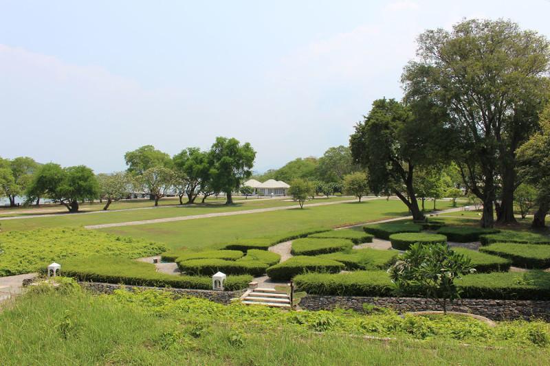 Исторический парк на острове
