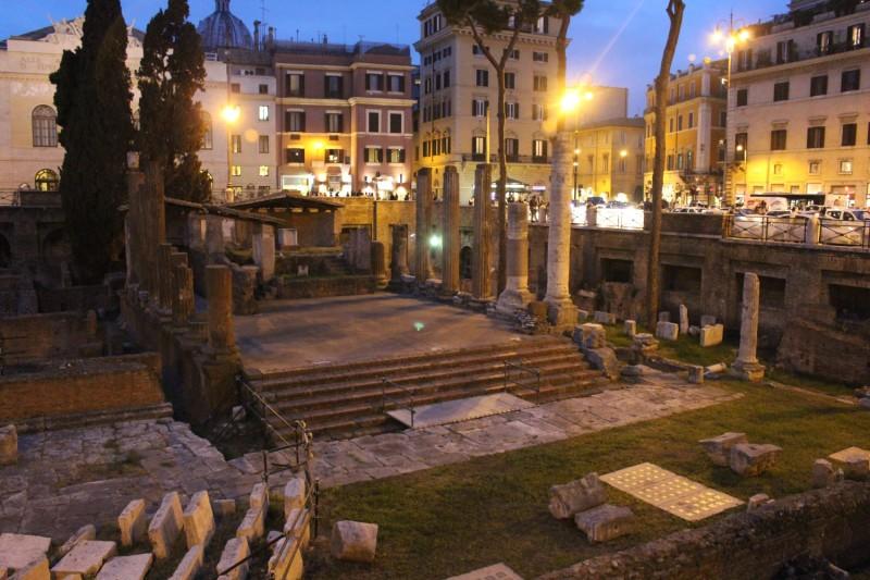 Где был убит Цезарь
