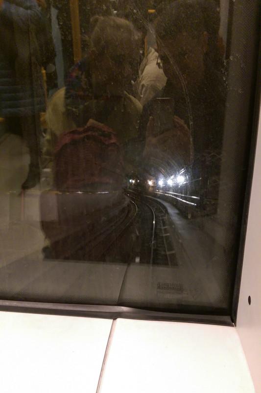 Беспилотный поезд в метро
