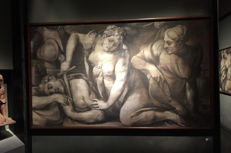 Очень любопытные сюжеты в музее