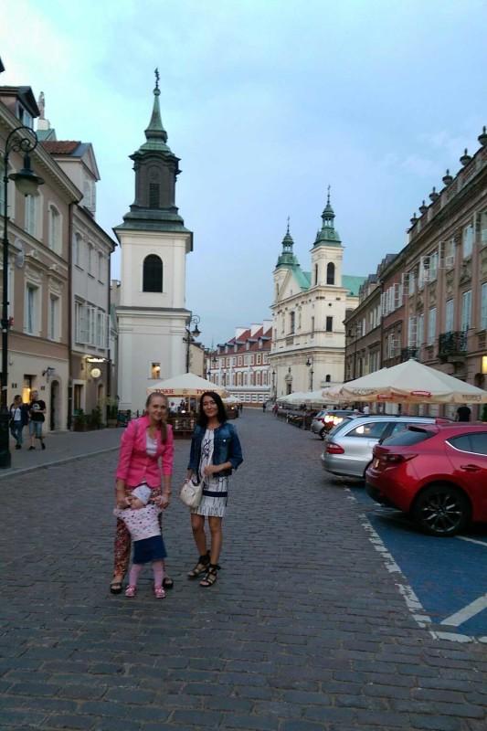 Старый город Варшава