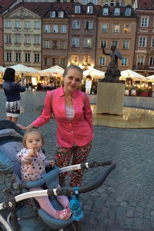 Русалка на рыночной площади Варшава