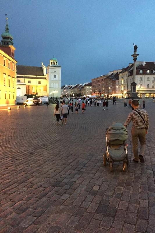 Замковая площадь Варшава