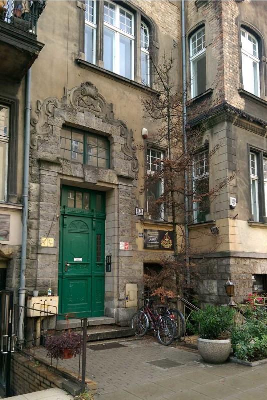 Вход в здание Познань