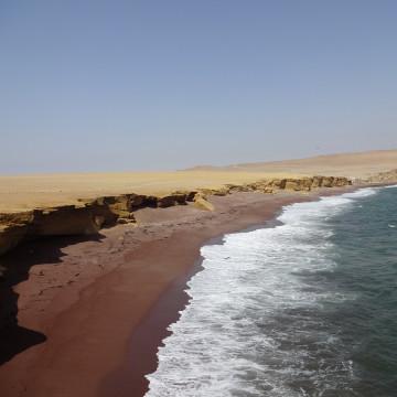 Красные пляжи ))