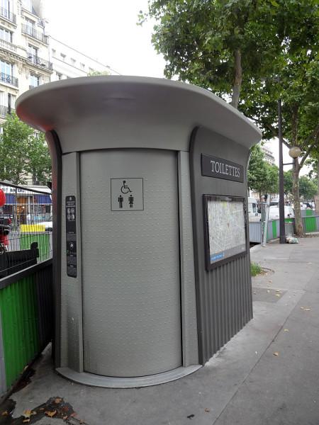 Туалет в Париже