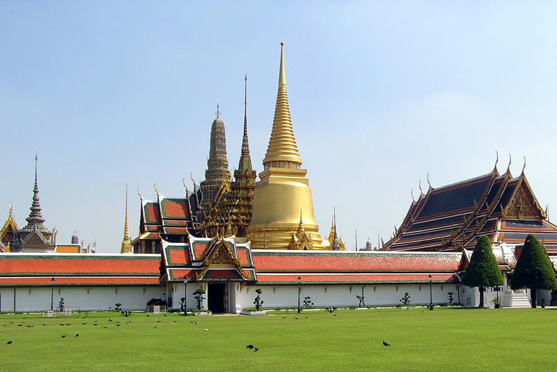 Бангкок королевский дворец