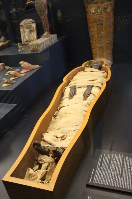 Египетский зал - Мумия