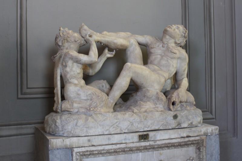 Скульптура в музее Ватикана