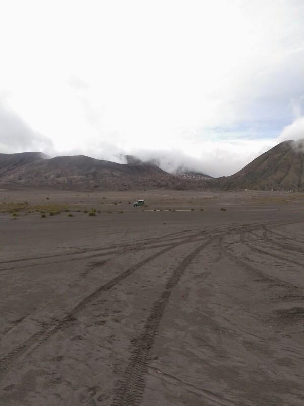 Следы к вулкану