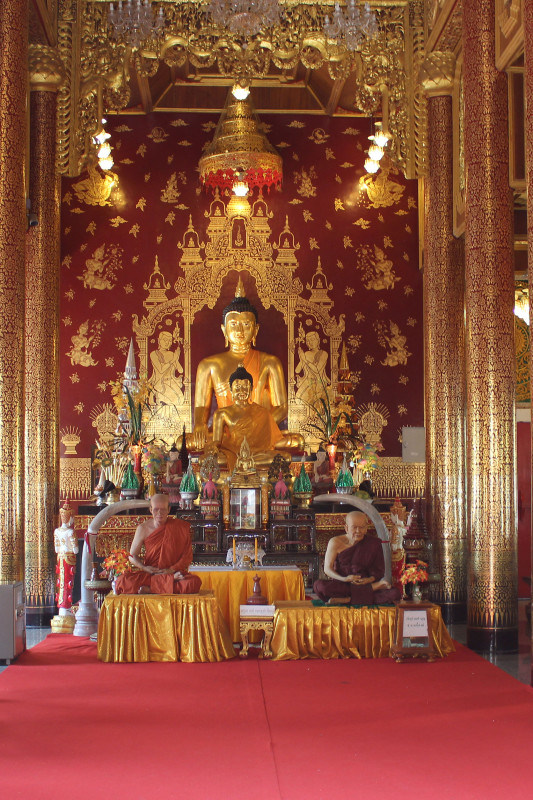 Wat Manee Praison Монахи