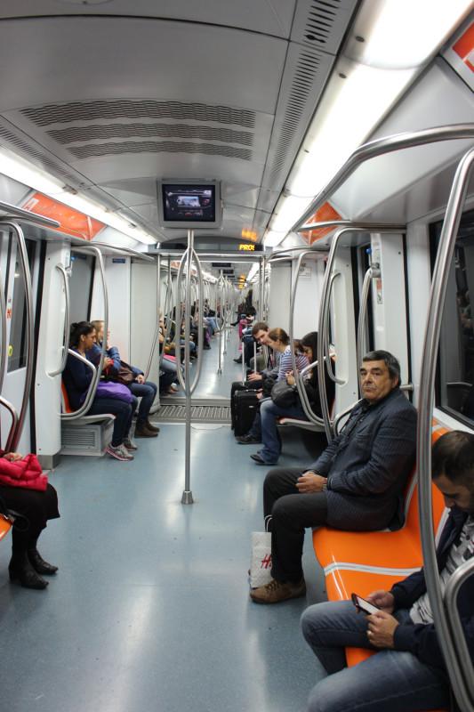 Вагон метро Флоренция