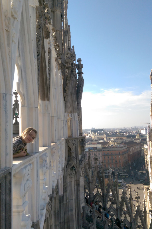 Крыша Милансокго собора