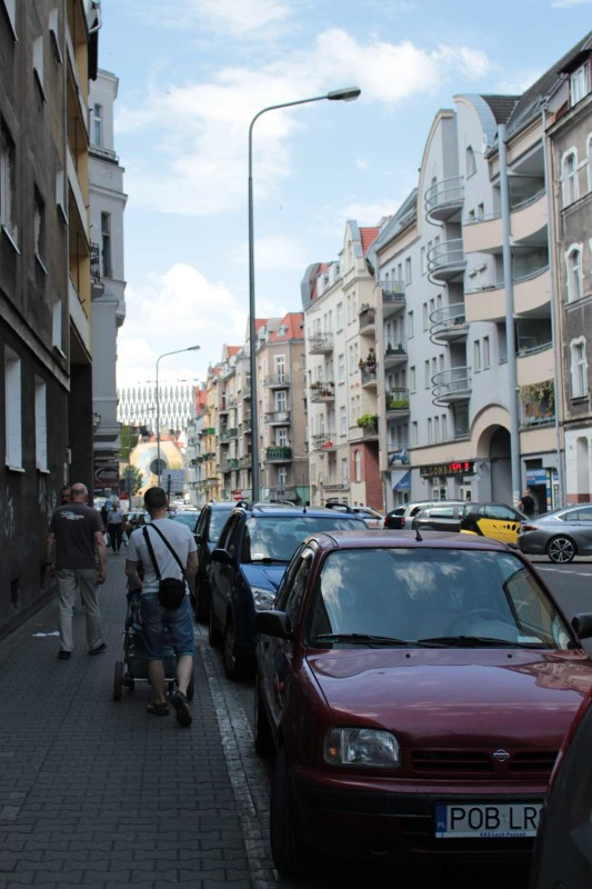 Улица в Познани