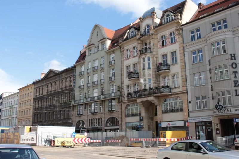Ремонт на центральной улице