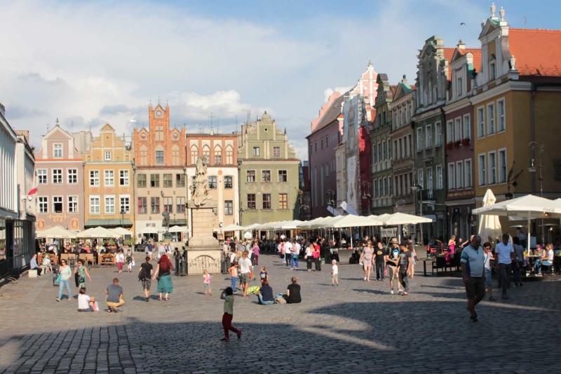 Рыночная площадь в Познани