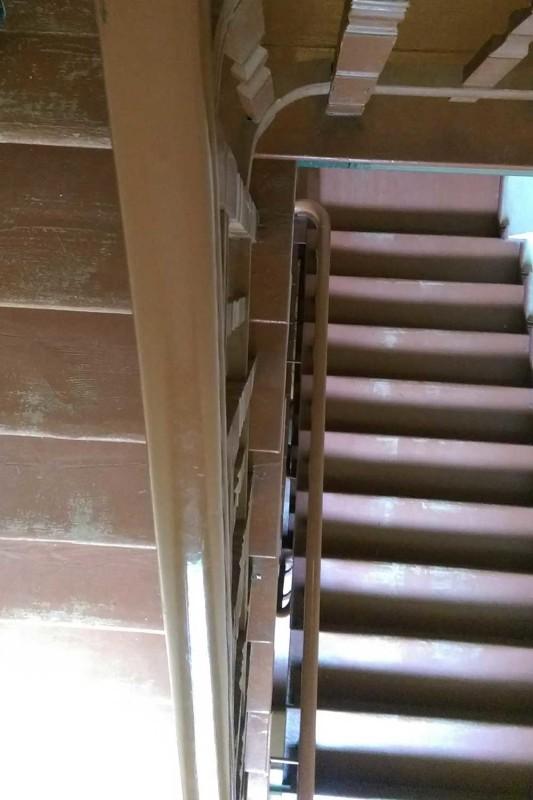 Скрипучая лестница Познань