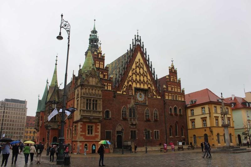 Рыночная площадь Вроцлав